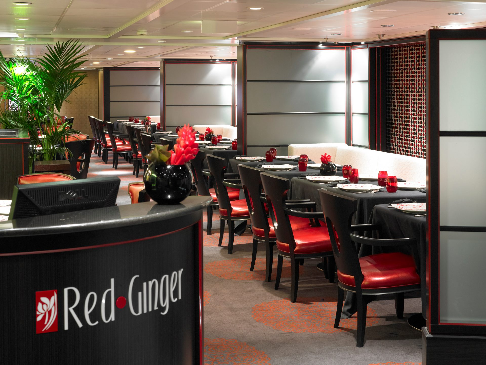 Oceania Restaurant Red Ginger